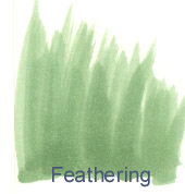 Feathering